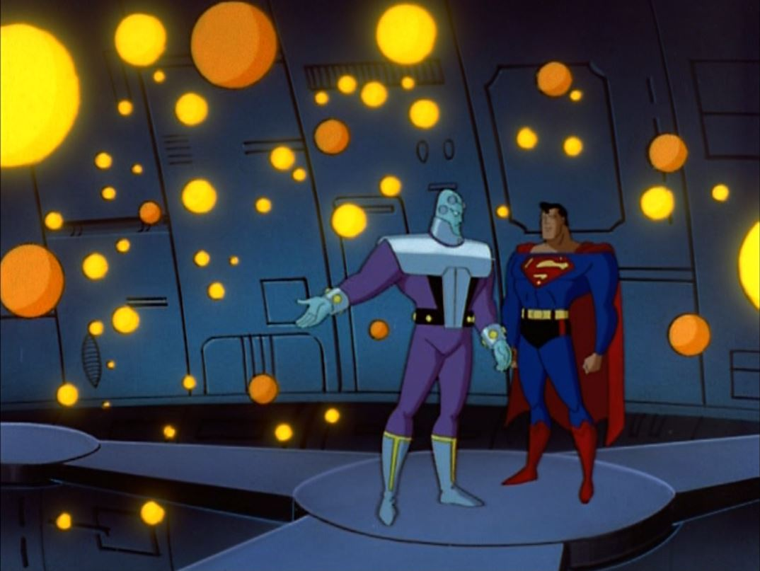 uperman Super-Villains - Brainiac2