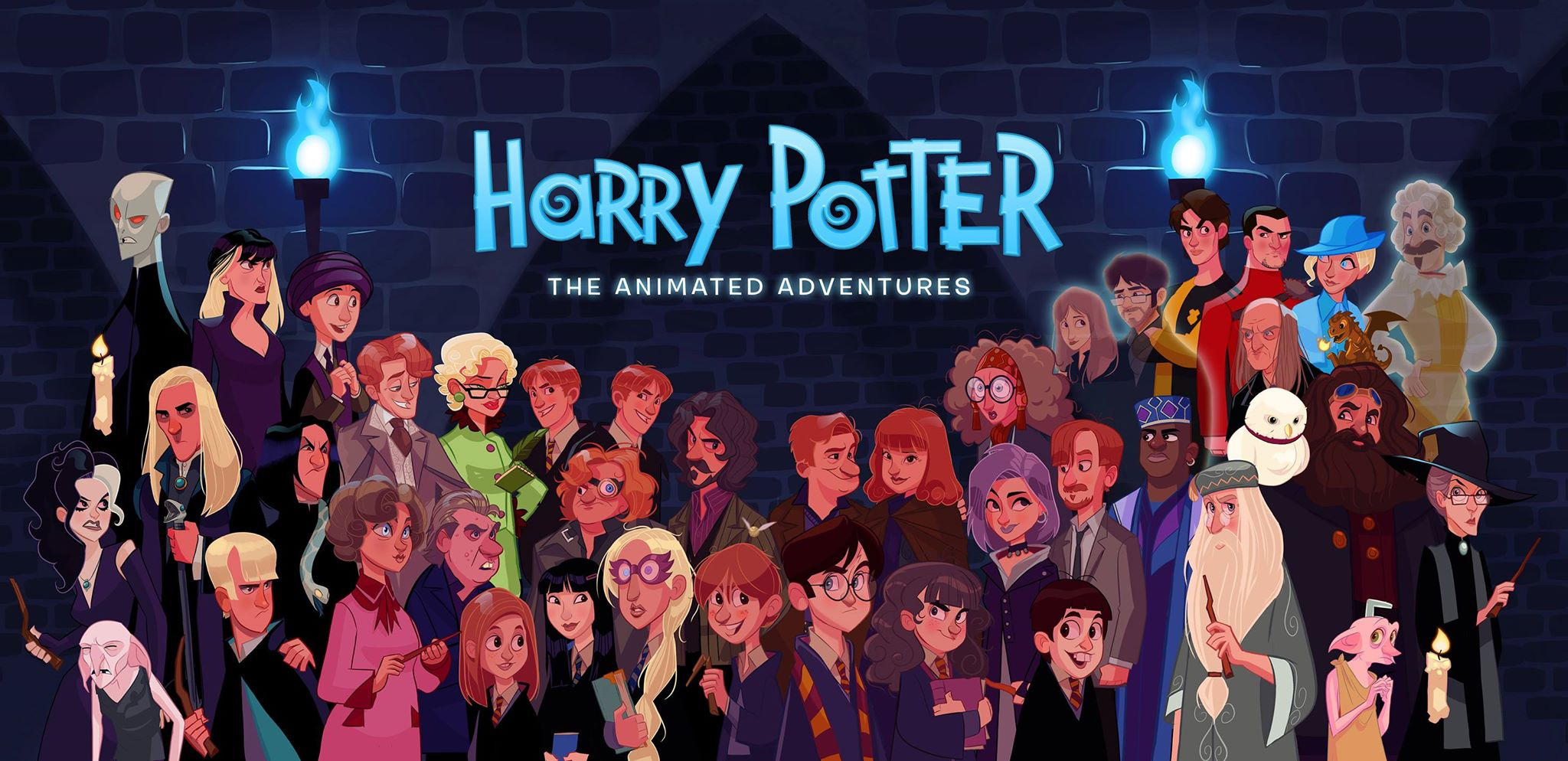 harry poter - the animated adventures