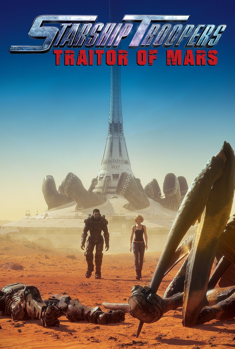 Starship Troopers Traitor of Mars - plakat