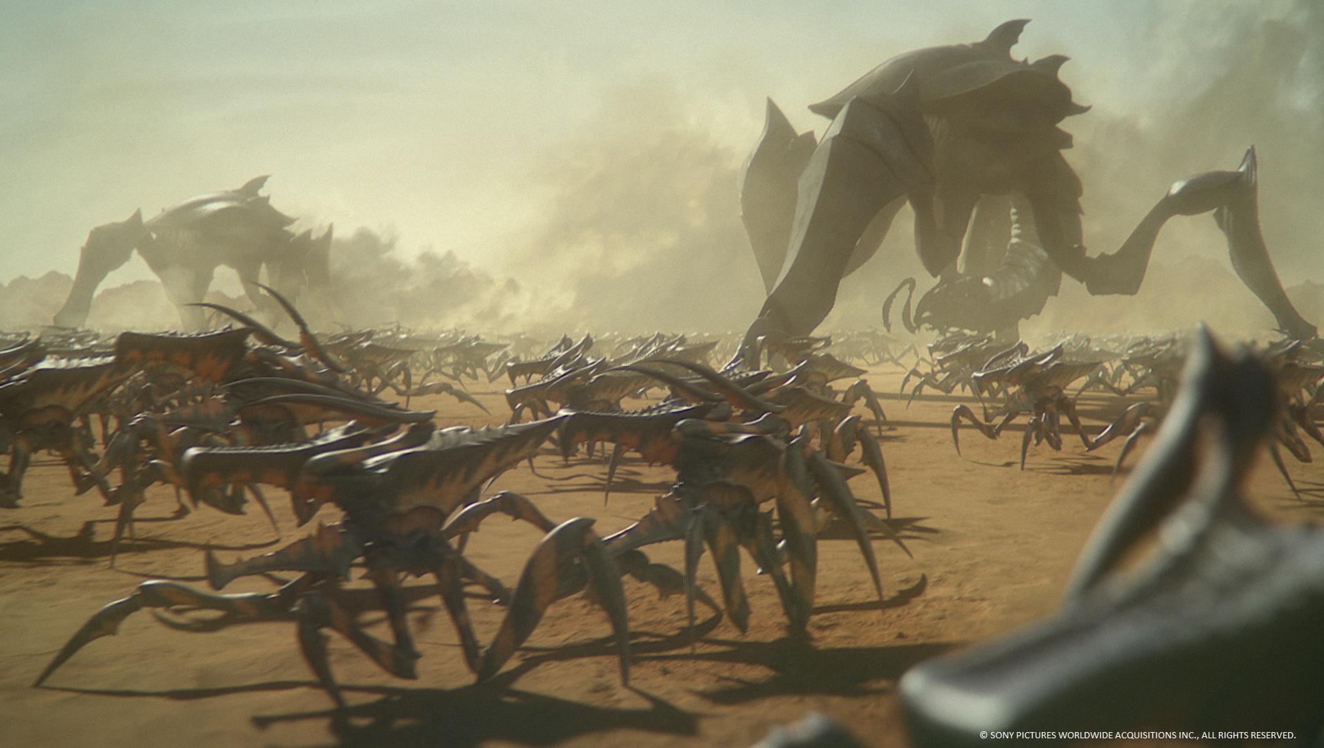 Starship Troopers Traitor of Mars - Sony