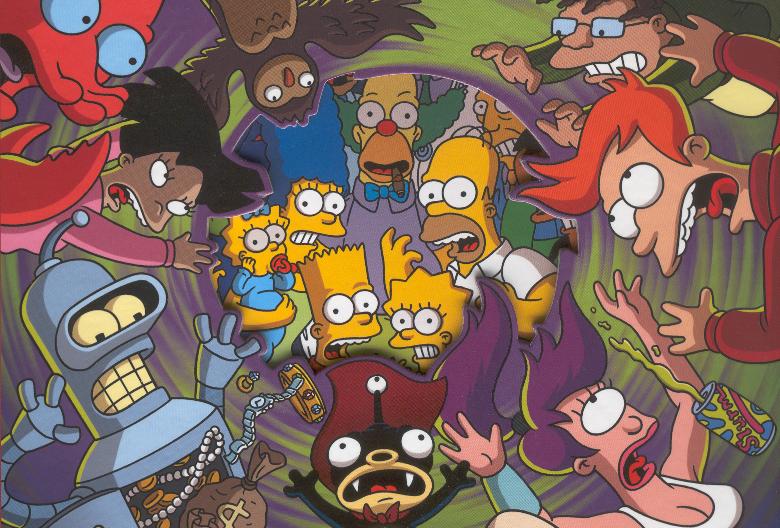 Futurama oraz Simpsonowie